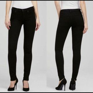 Citizens of Humanity Avedon Mid Rise Black Jeans